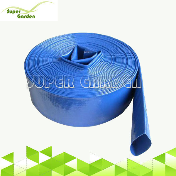 Agriculture irrigation PVC discharge water pipe irrigation system PVC lay flat hose