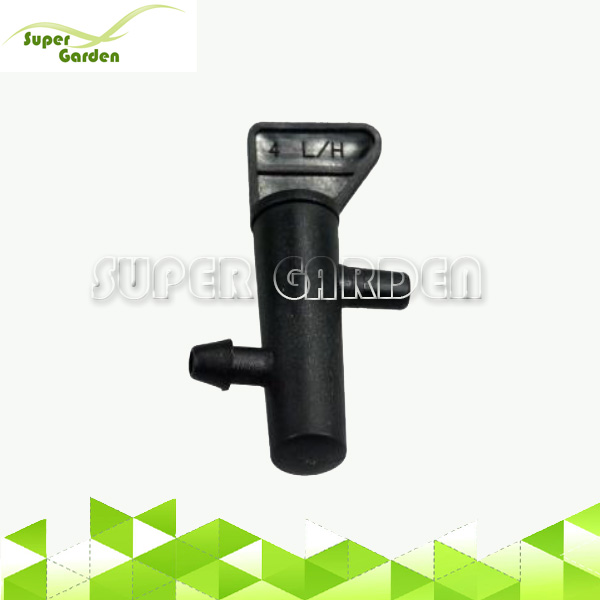 Agricultural drip irrigation system on-line flag emitter dripper