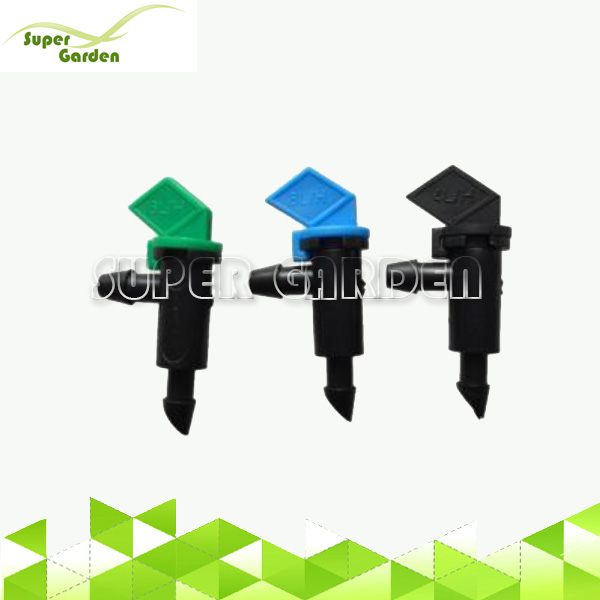 Non Pressure Compensating Take Apart Drip Flag Dripper for Irrigation
