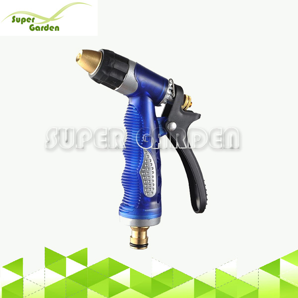 Garden irrigation system water tigger sprayer with brass nozzle