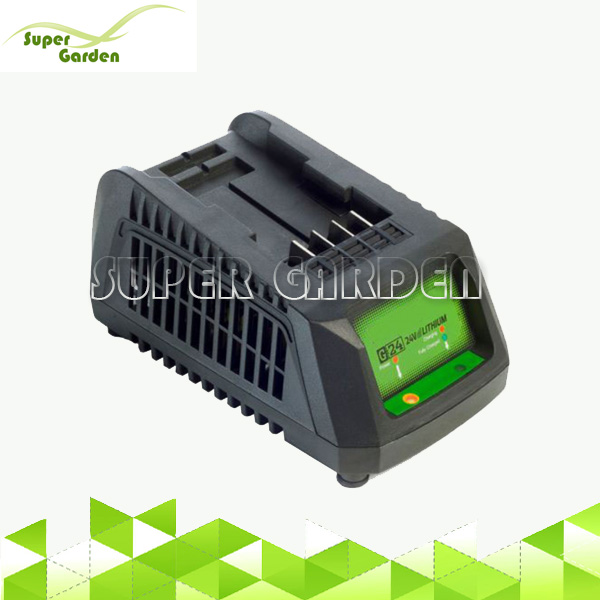 24V garden power tools universal charger for Li-ion batteries