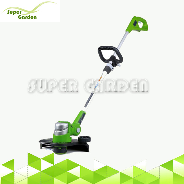 24V Li-ion Battery Powered Brush Deluxe Grass Trimmer for Yard Garden Agriculture
