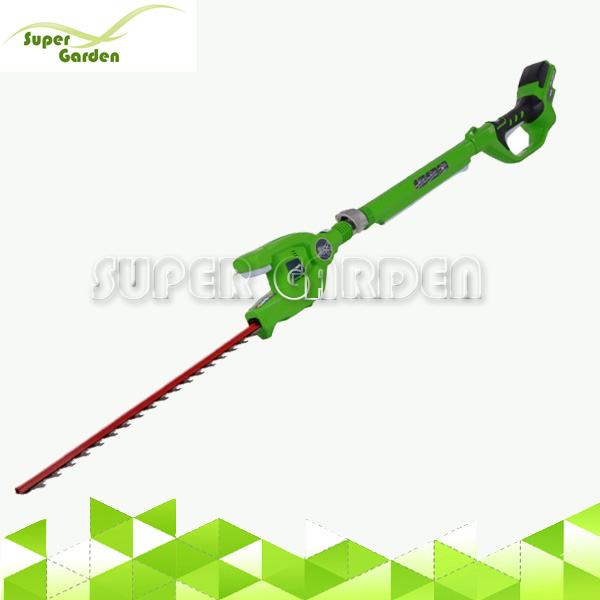 24V Li-ion Cordless Electric Powered Pole Long Reach Hedge Trimmer