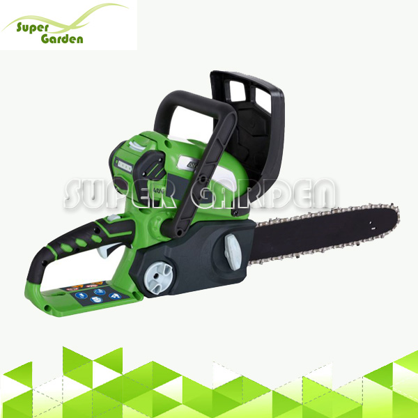 40V Brushed Battery Chainsaw With 30cm Oregon Chain