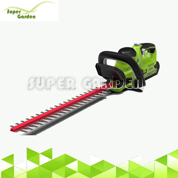 40V battery garden combo kit cordless grass tractor hedge trimmers