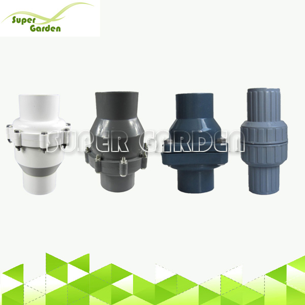 Agriculture water supply system PVC Pipe Swing Check Valve