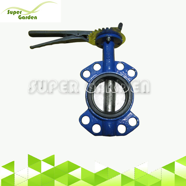 Cast Iron Handle Wafer Butterfly Valve For Agriculture Irrigation System