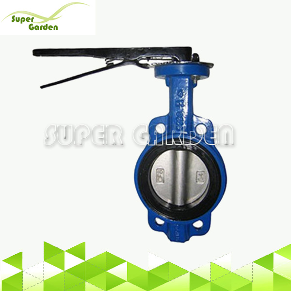 Handle Wafer type Ductile Iron Butterfly Valve
