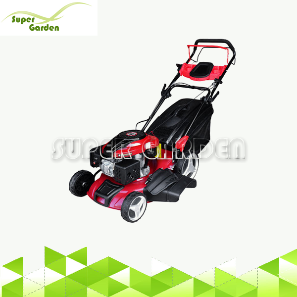 21inch 196cc  loncin engine self propelled gasoline lawn mower