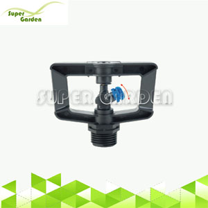Farm micro irrigation system plastic low angle water damped sprinkler
